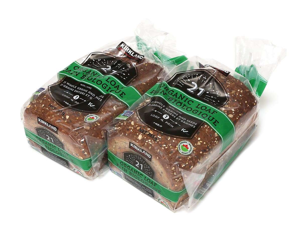 カークランドシグネチャー 21穀オーガニック食パン 765g☓2 2袋