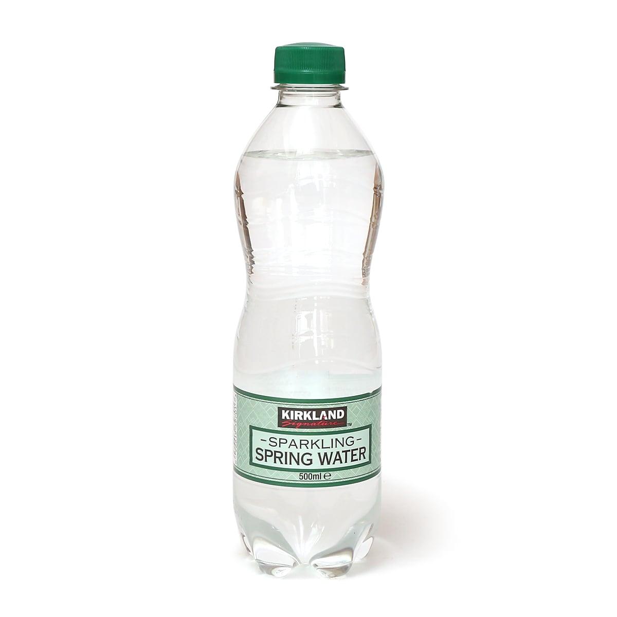 カークランド 天然炭酸水(スパークリングスプリングウォーター)500ml(1本)
