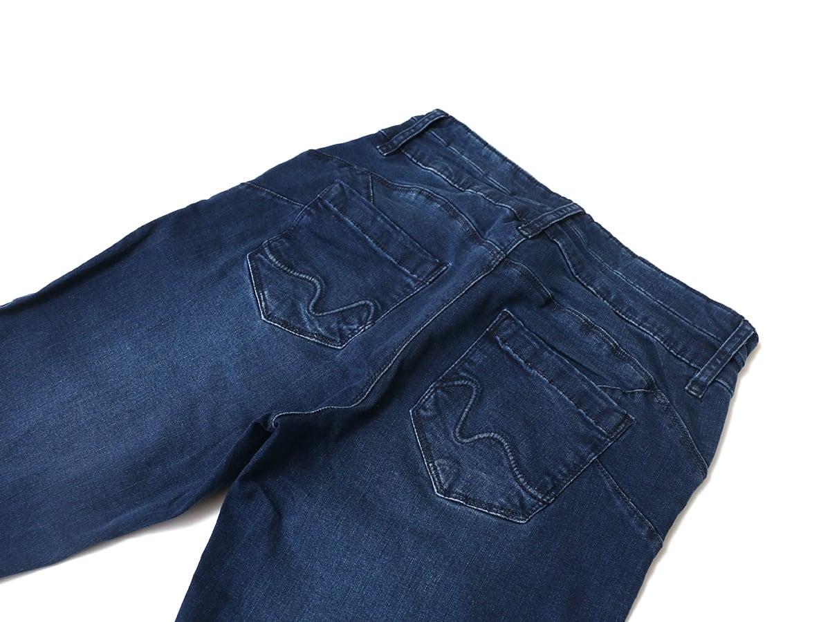 URBAN STAR レディース スキニージーンズ(ストレッチジーンズ) おしり部分のポケット