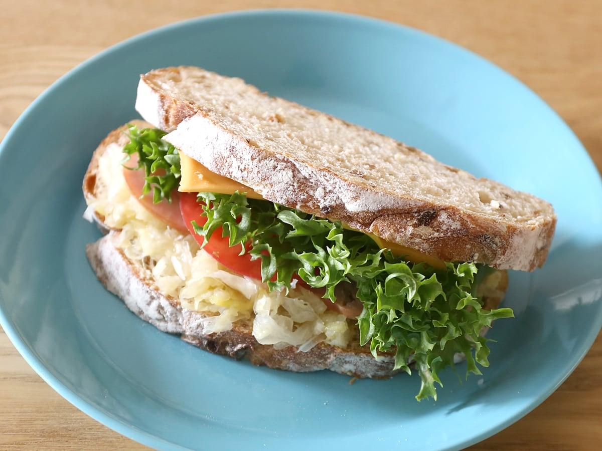 カントリーフレンチライで作るサンドイッチ