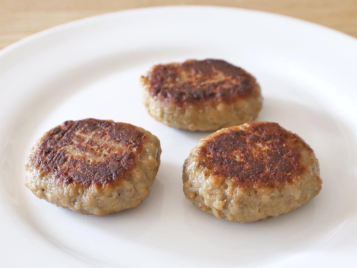 ニッポンハム 鉄板焼きハンバーグ フライパン調理