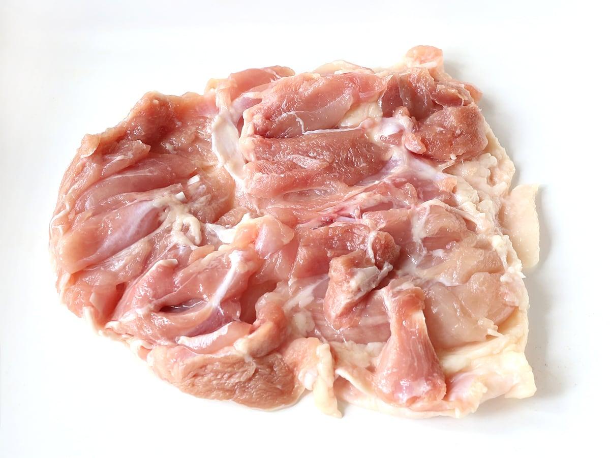 コストコのさくらどり(鶏肉)の美味しい焼き方 厚みを一定にしておく