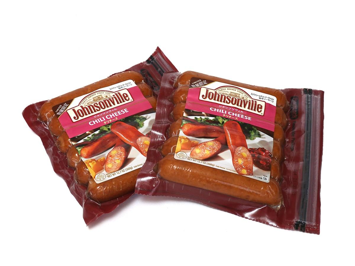 ジョンソンヴィル フランクフルトソーセージ チリチーズ 2パック