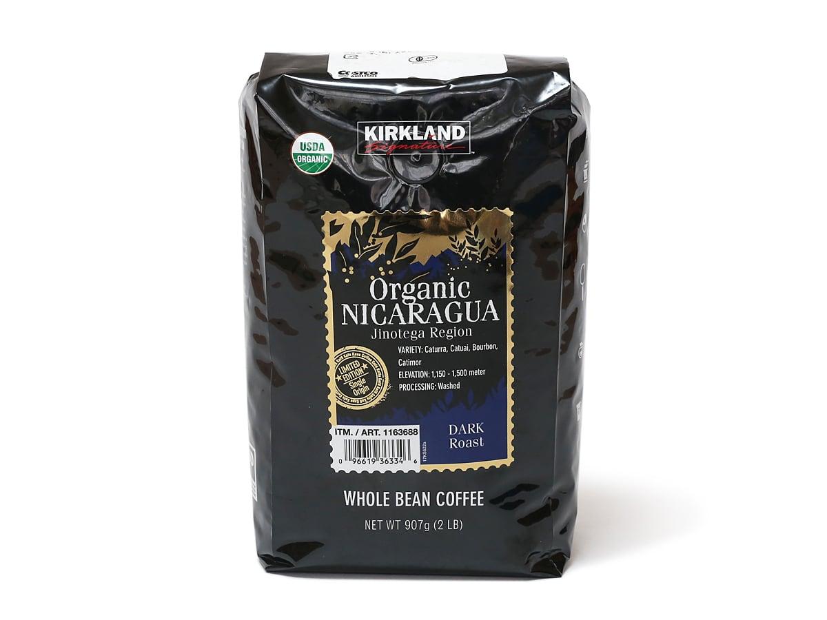 カークランドシグネチャー オーガニックニカラグアコーヒー