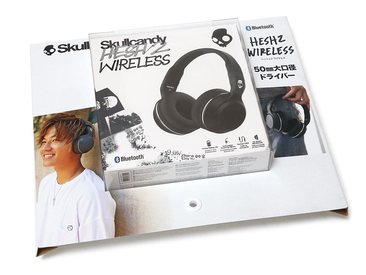 Skullcandy HESH2 WIRELESS Bluetooth ワイヤレスヘッドフォン
