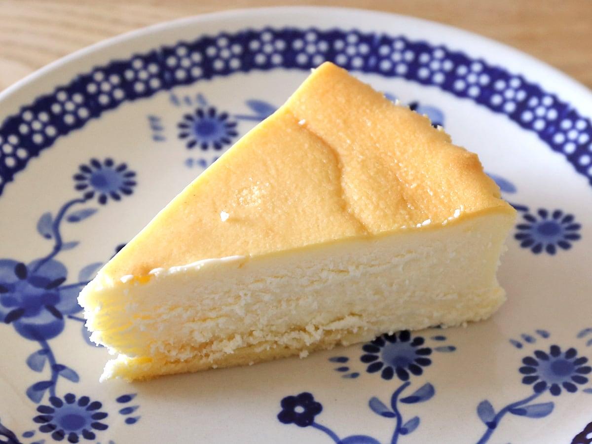 スフレチーズケーキ カット断面