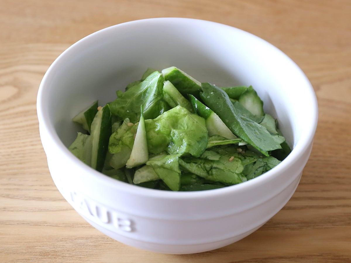 ビッグシェフ うま塩チョレギソース サラダ(叙々苑サラダ風)
