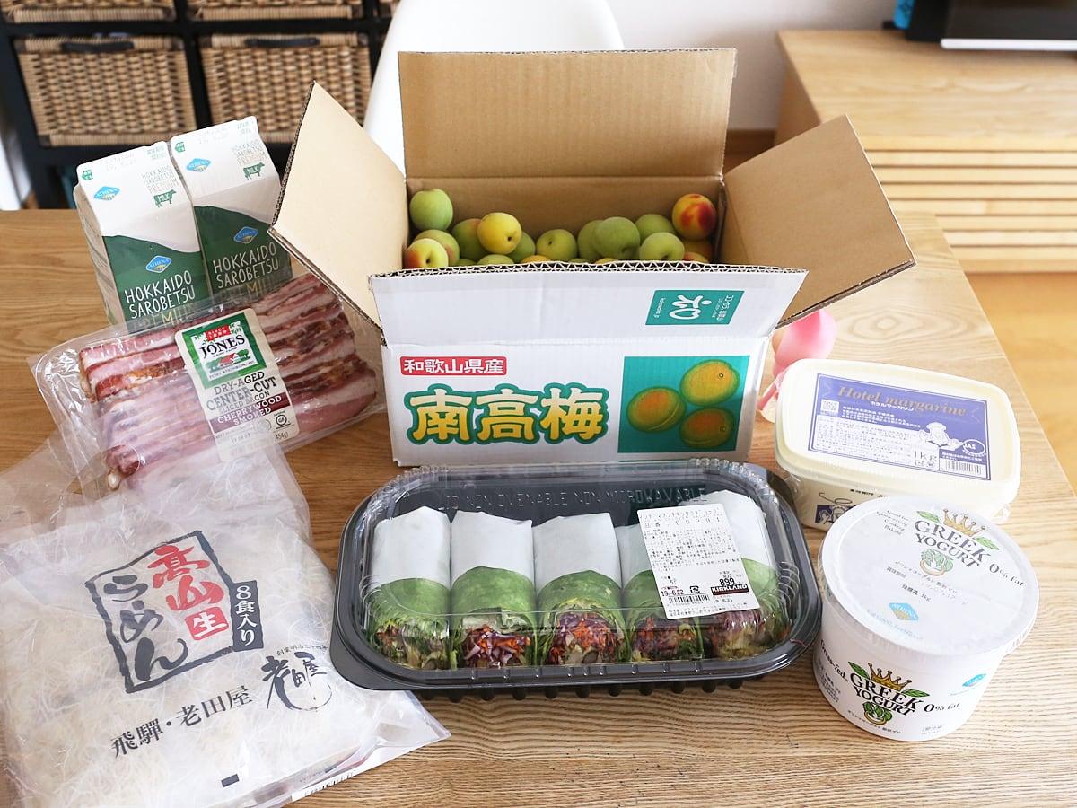 コス子のコストコ購入品!2019年6月21日(念願の南高梅3kgとついにご対面!)