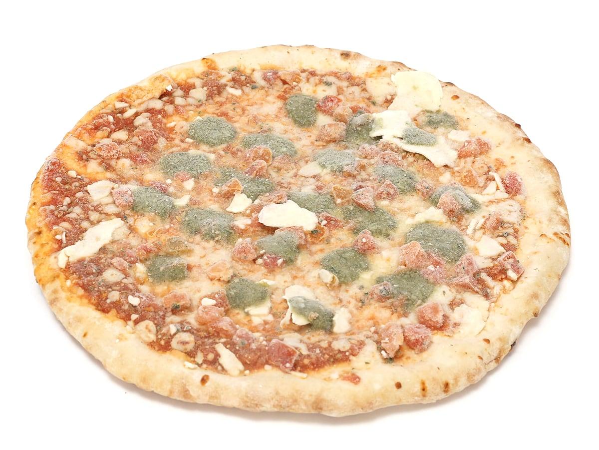 Pizzeria Italiana ピザマルゲリータ(冷凍ピザ) 開封中身(ピザ1枚調理前)