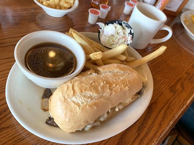 クラッカーバレルオールドカントリーストア サンドイッチ