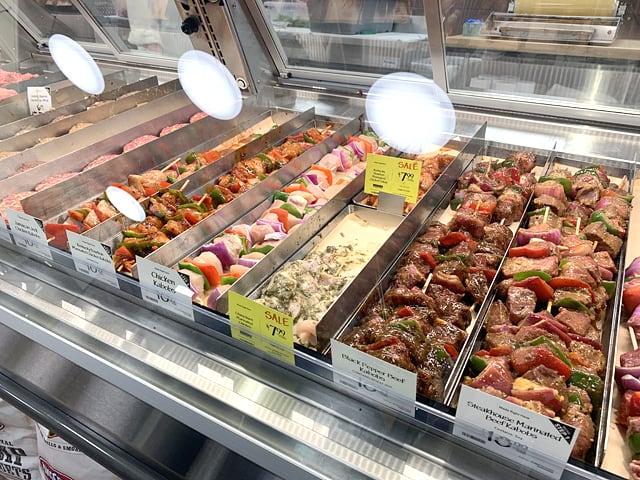 ホールフーズマーケット お肉コーナー