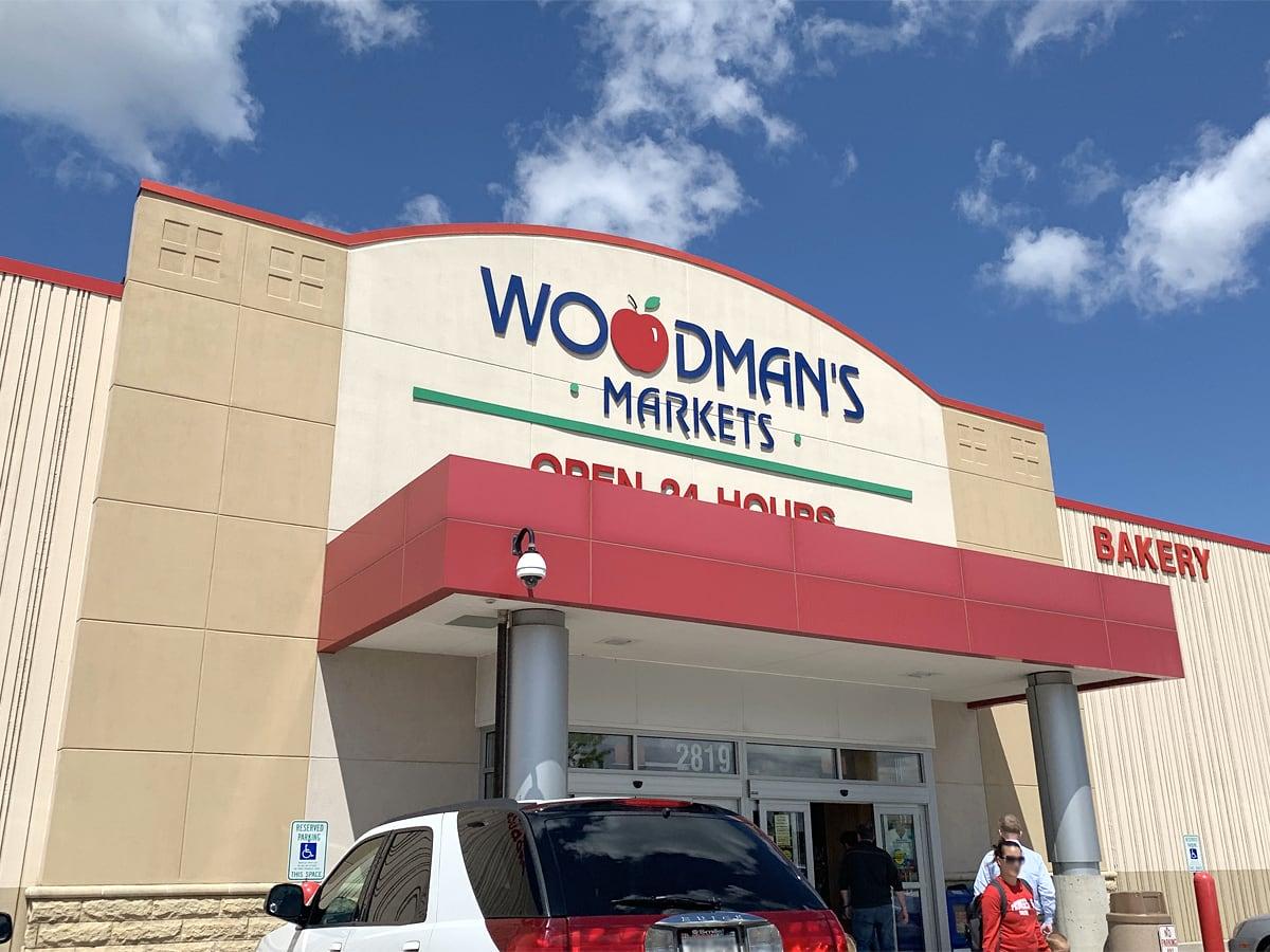 ウッドマンズマーケット 外観