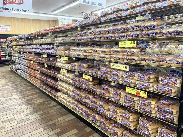 ウッドマンズマーケット パン売場