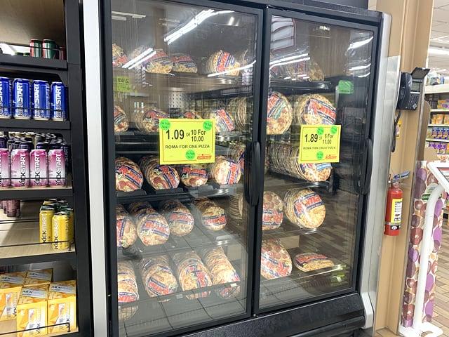 ウッドマンズマーケット 冷凍ピザ