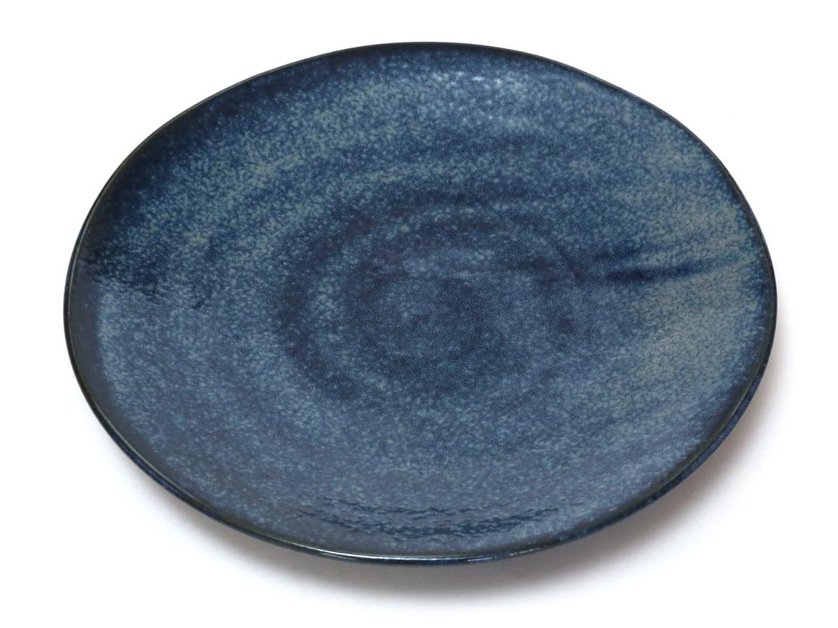 日本製・美濃焼 軽量食器 大皿4枚セット 1枚(表)