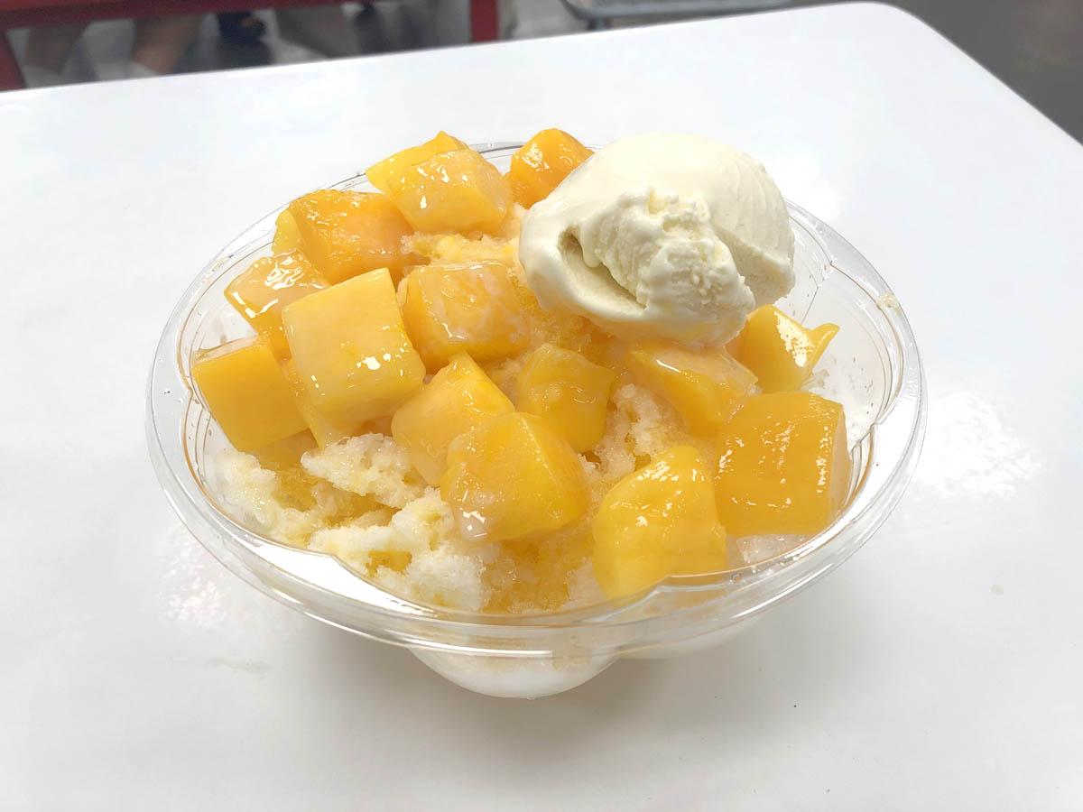 フードコート マンゴーシェーブアイス(芒果剉冰)