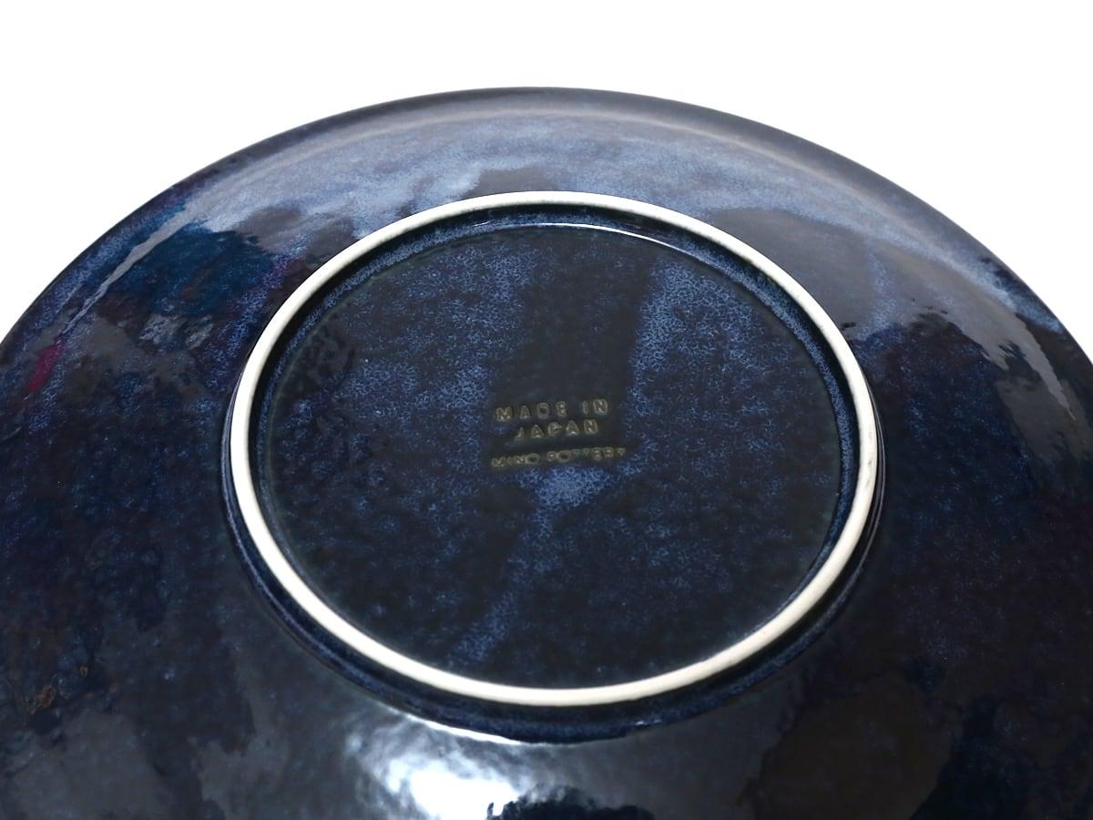 日本製・美濃焼 軽量食器 大皿4枚セット 1枚(裏)