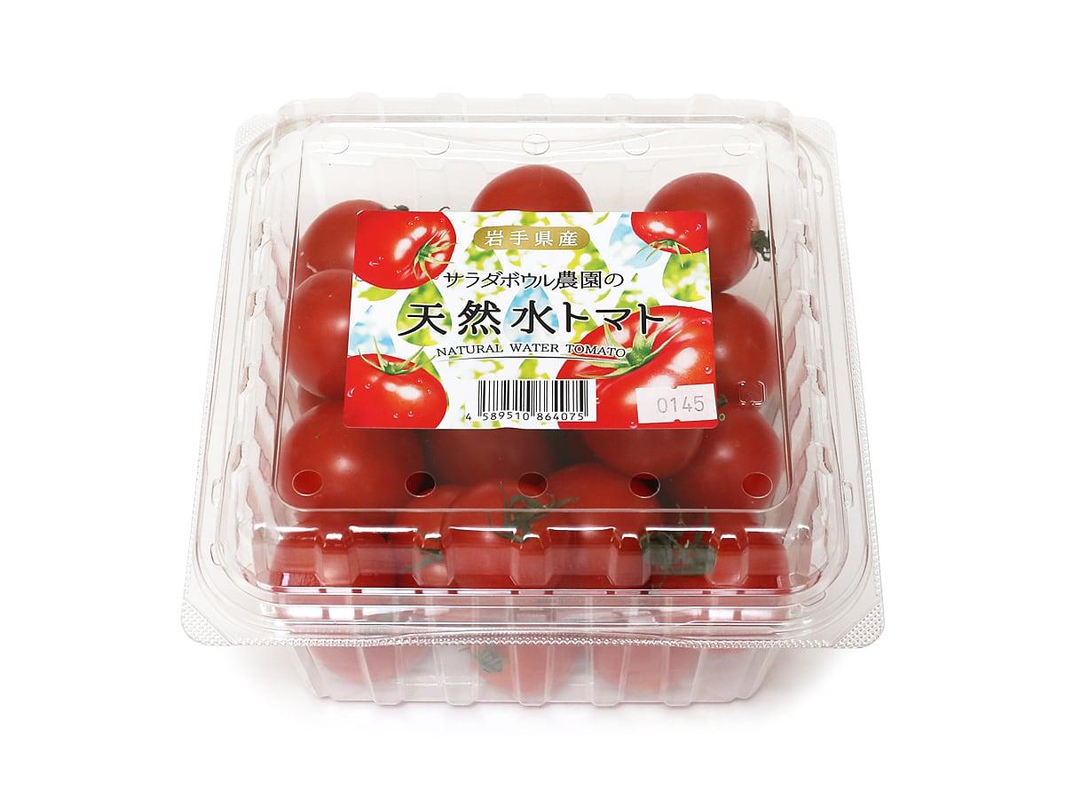 岩手県産 サラダボウル農園の天然水トマト 1kg