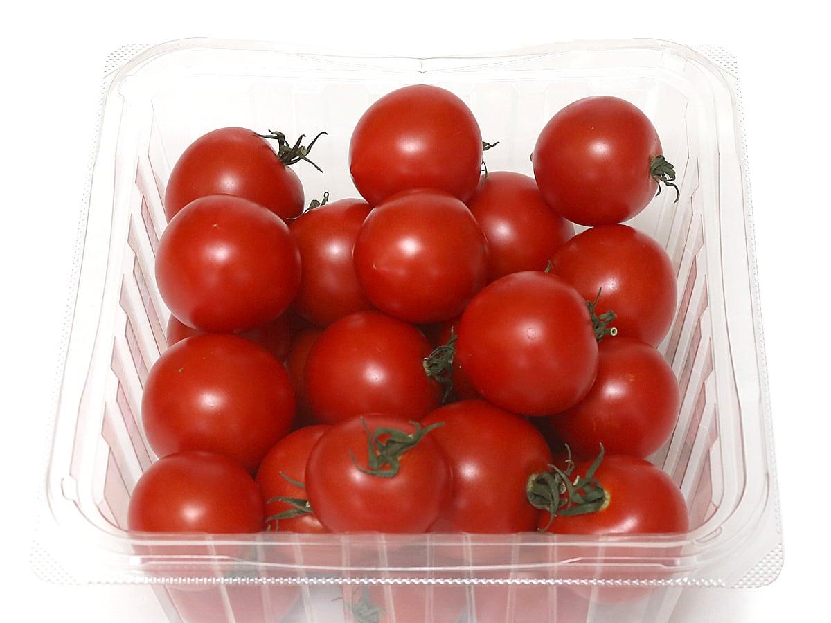 岩手県産 サラダボウル農園の天然水トマト 1kg 開封