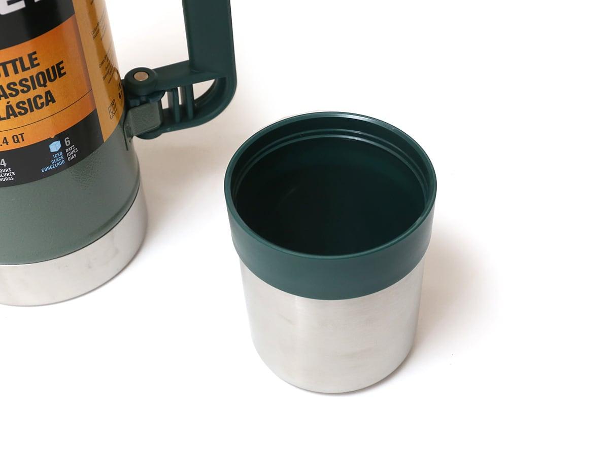 スタンレークラシックボトル(水筒)1.4QT/1.32リットル 蓋(コップ)