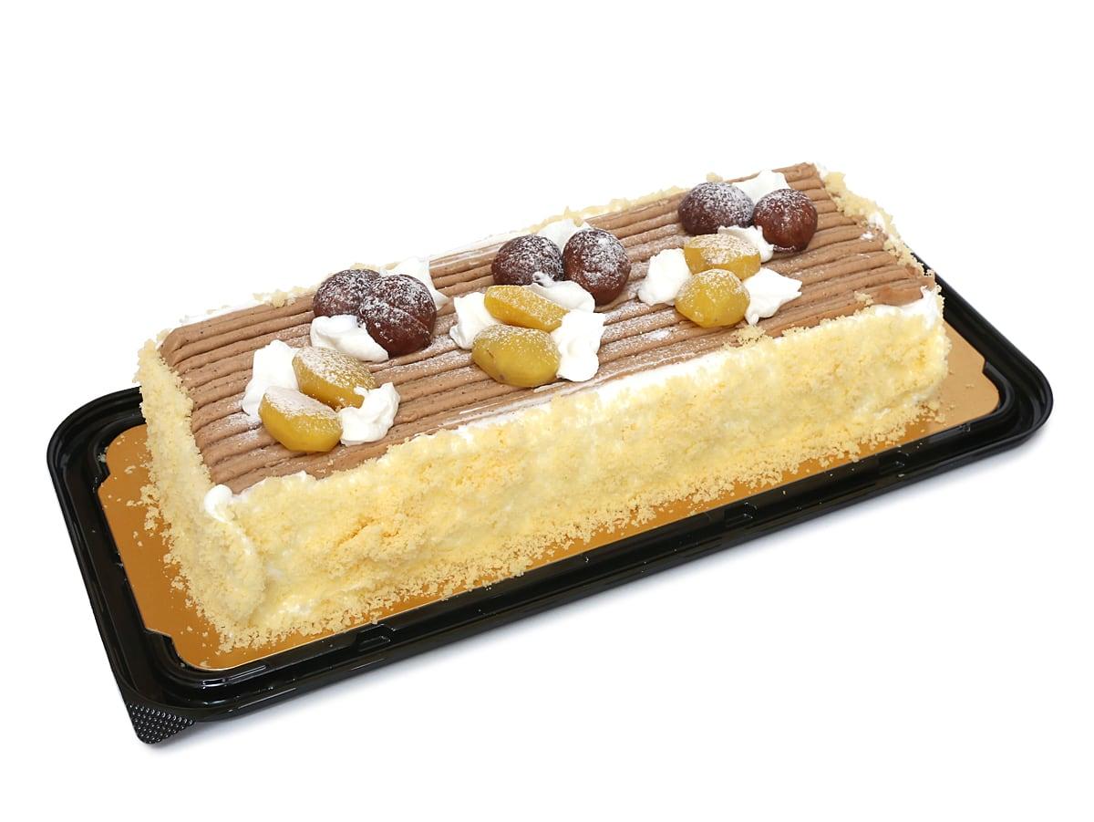 モンブランバーケーキ 開封