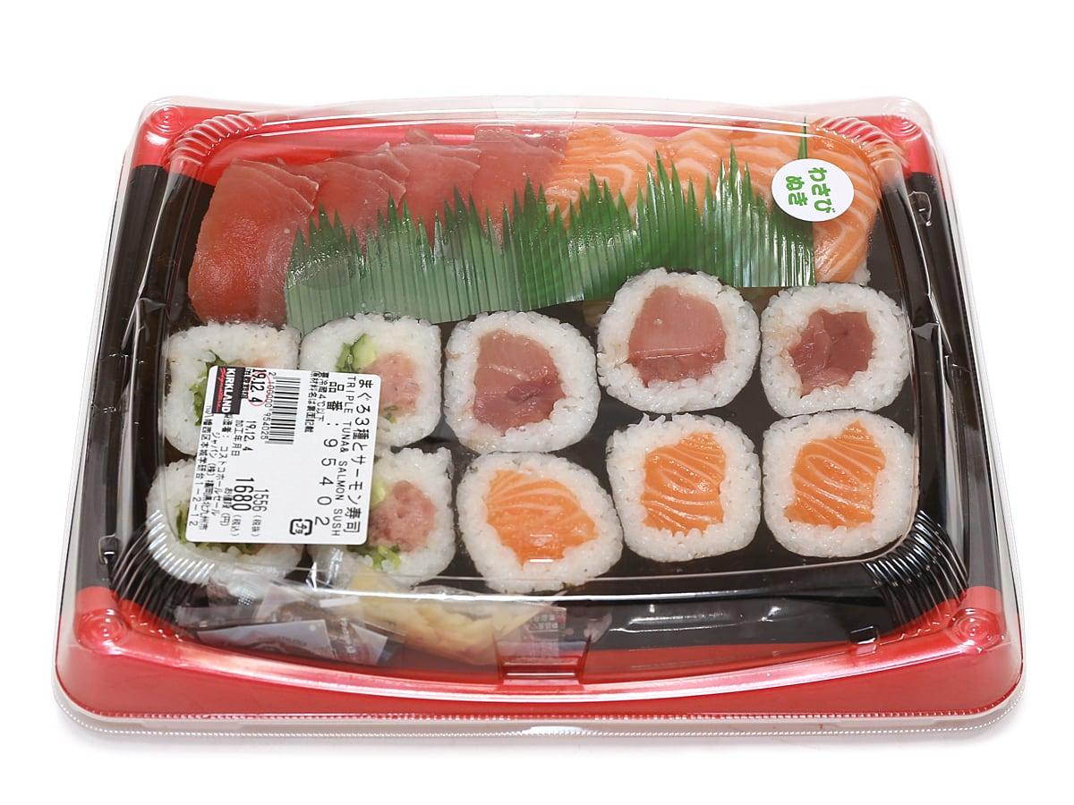 まぐろ3種とサーモン寿司