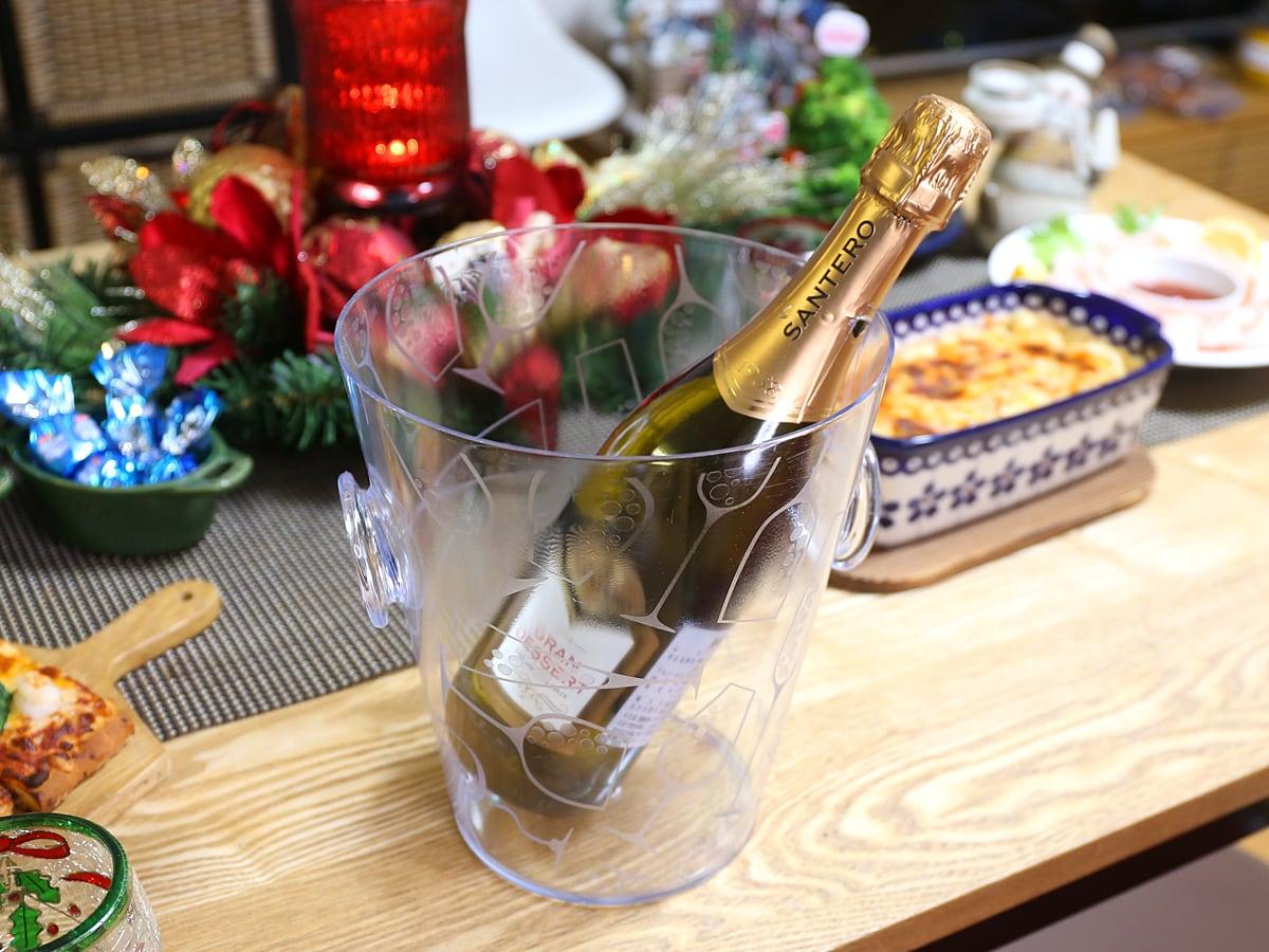 コストコ商品でクリスマスパーティー!2019 スパーリングワイン