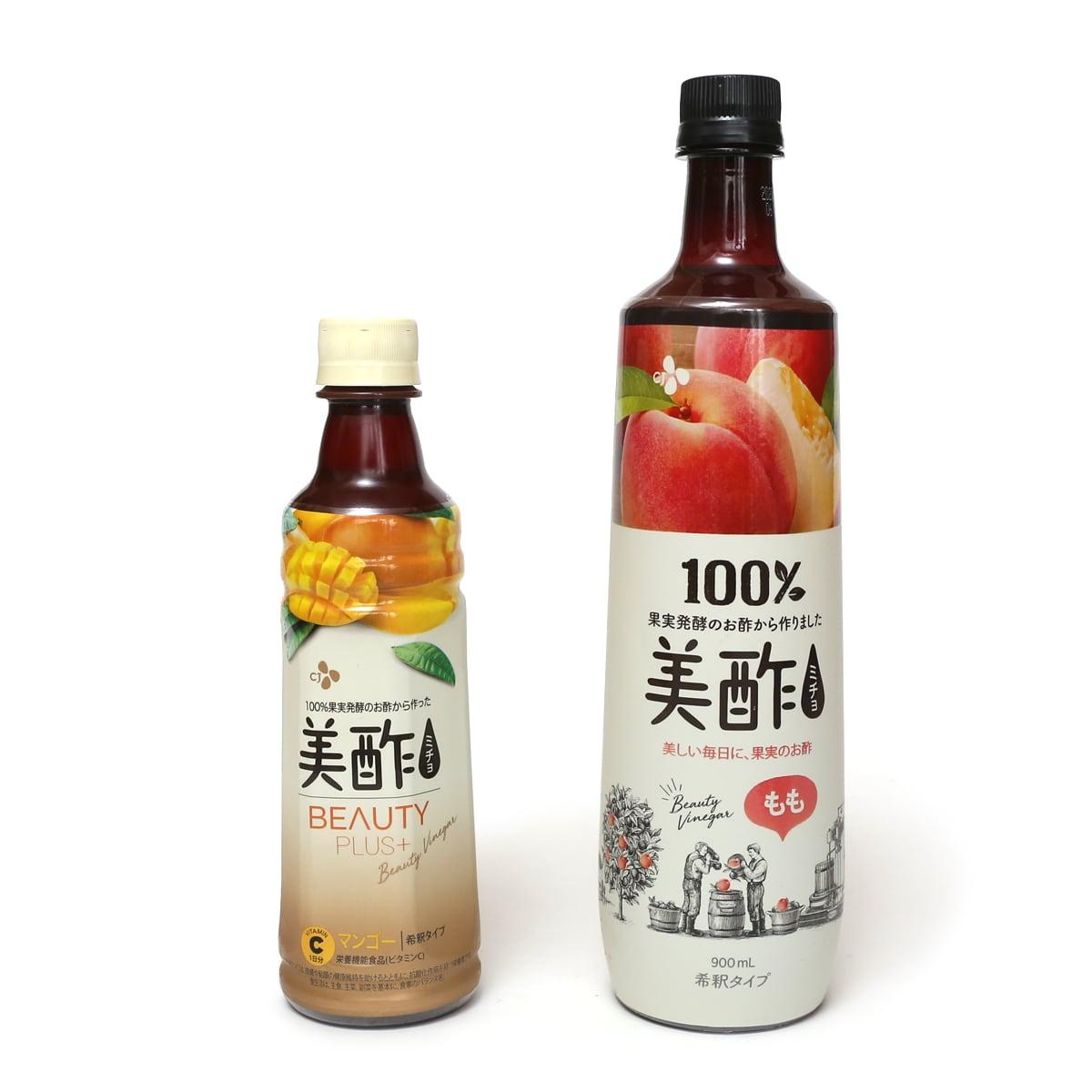 美酢(ミチョ)ビューティープラス マンゴー 400ml 通常のミチョとの比較