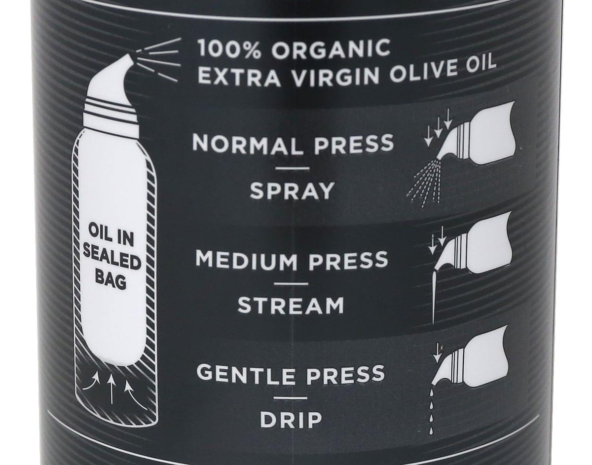 オッタビオ オーガニックエクストラバージンオリーブオイルスプレー 368g×2本 3ステップ仕様(説明)