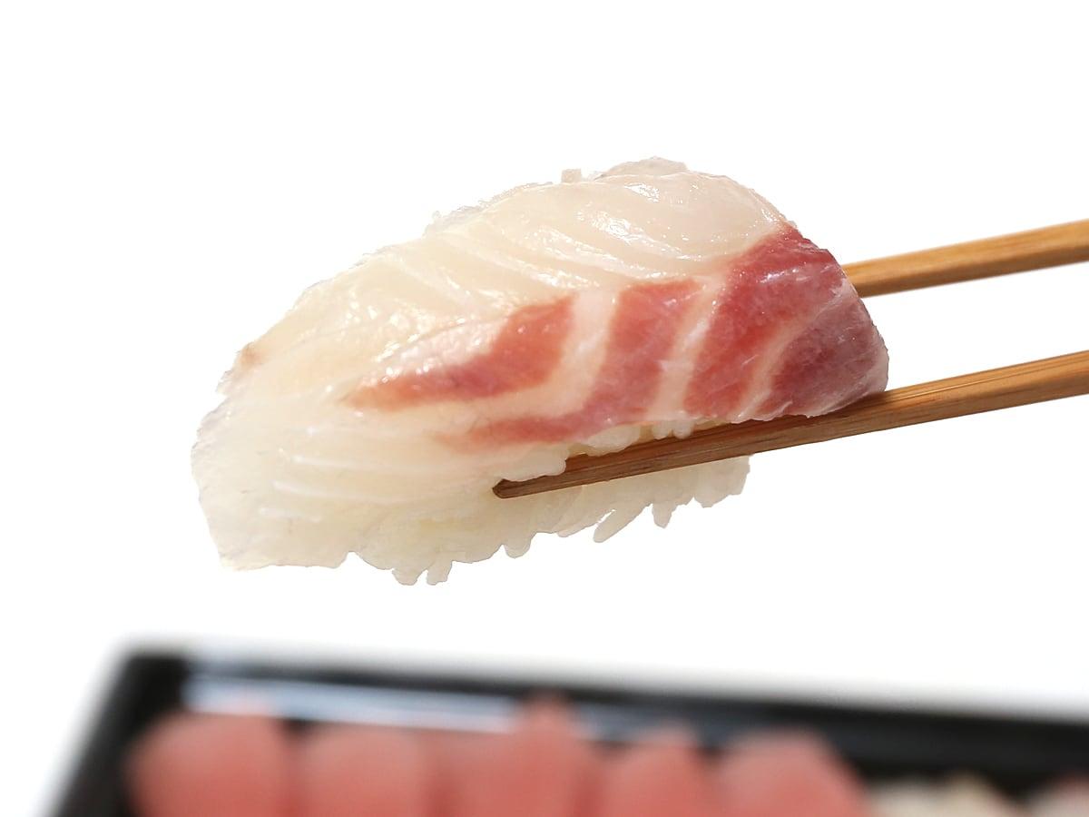 特選ファミリー盛46貫 プレミアム寿司コンボ 真鯛