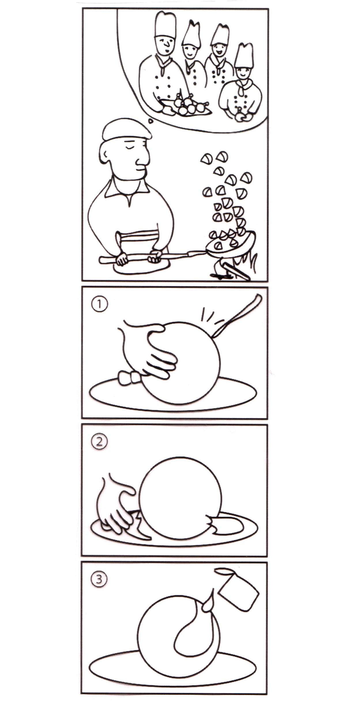 牧家 マロンミルクプリン 6個入り 4コマ漫画