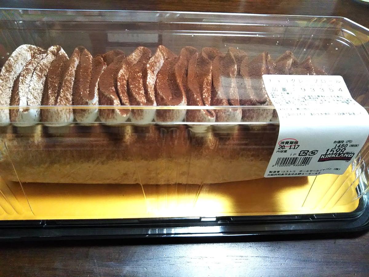 チョコクレープロール