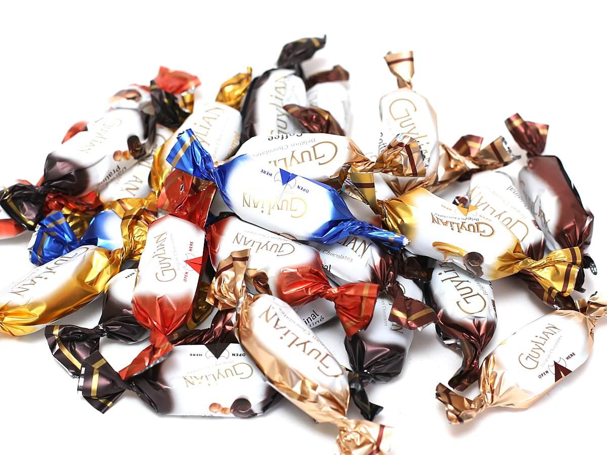 ギリアン テンプテーション ベルギーチョコレートアソート 袋から出した