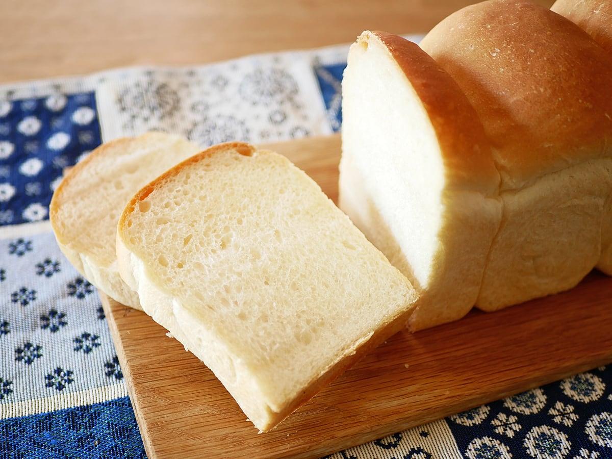イズニーAOP無塩バター 500g 使用例:リッチ食パン