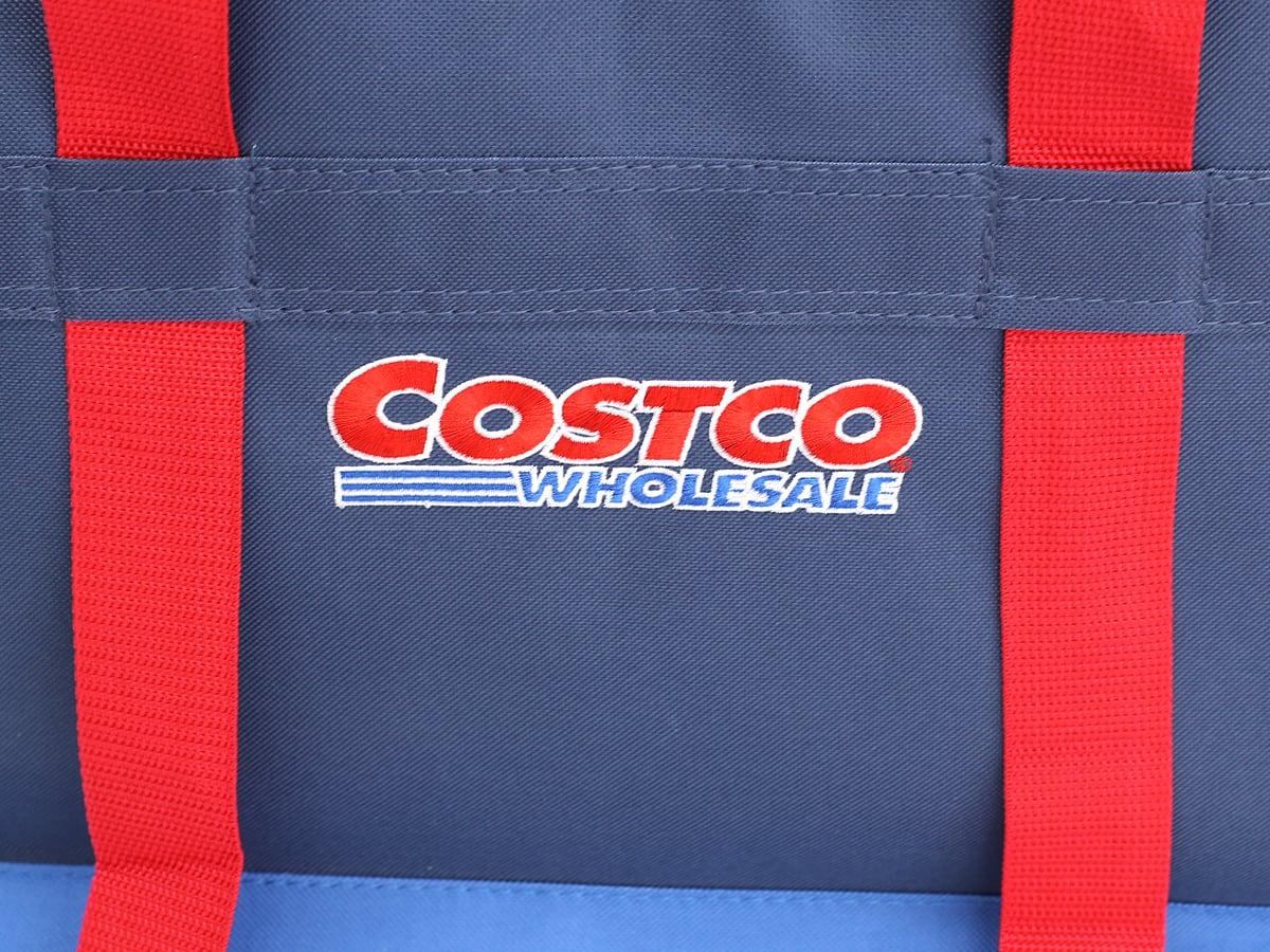 コストコオリジナルクーラーバッグ(BLUE)2パック ロゴ(アップ)
