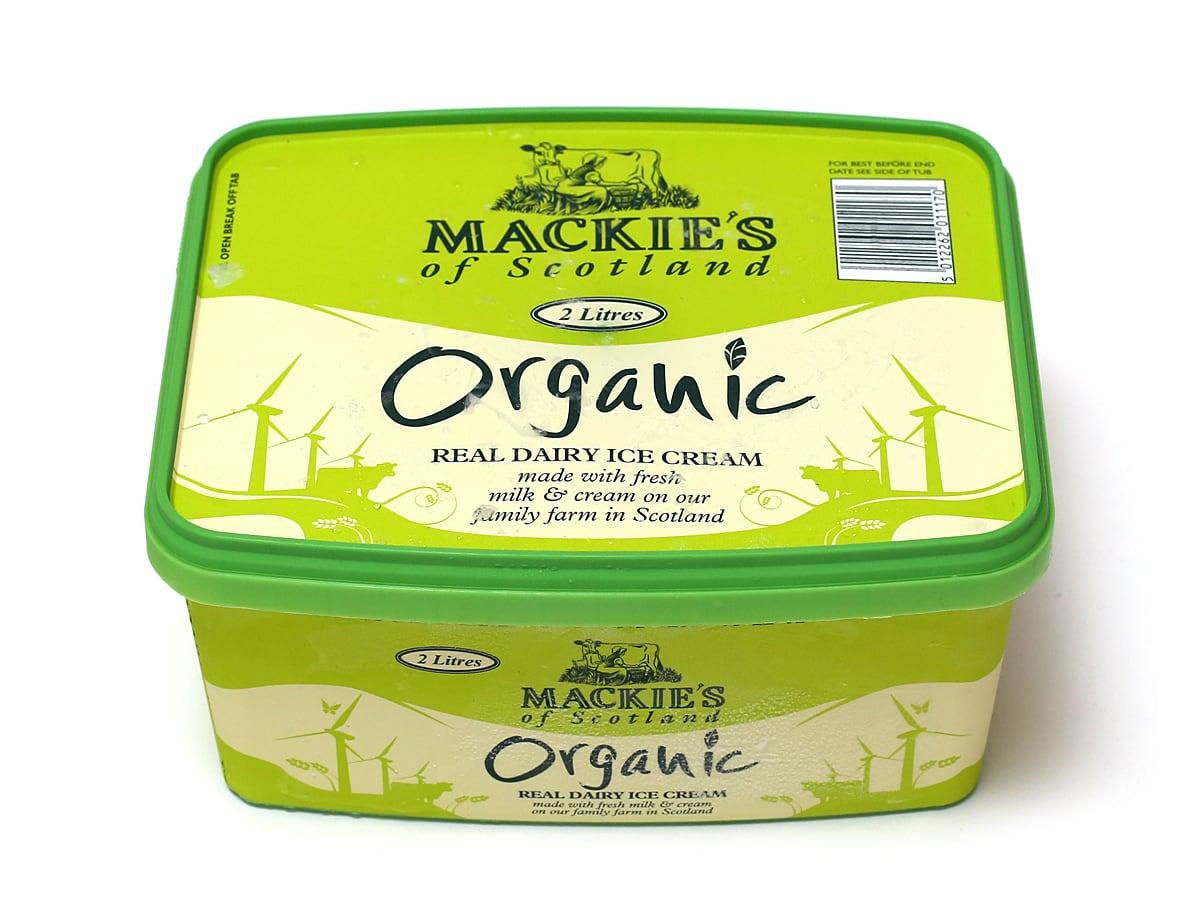 マッキーズ オーガニックミルクアイスクリーム 2L