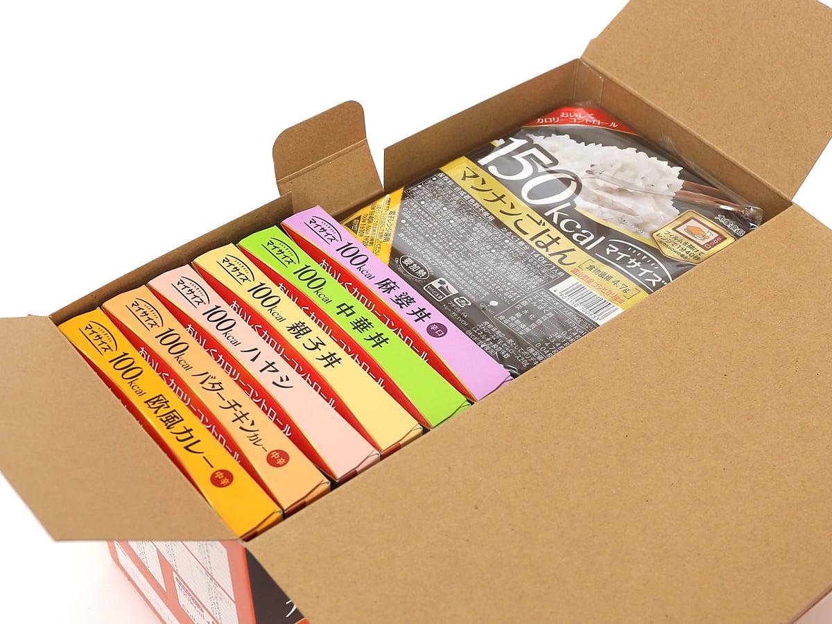 大塚食品 マイサイズアソート 12パック入り 箱開封