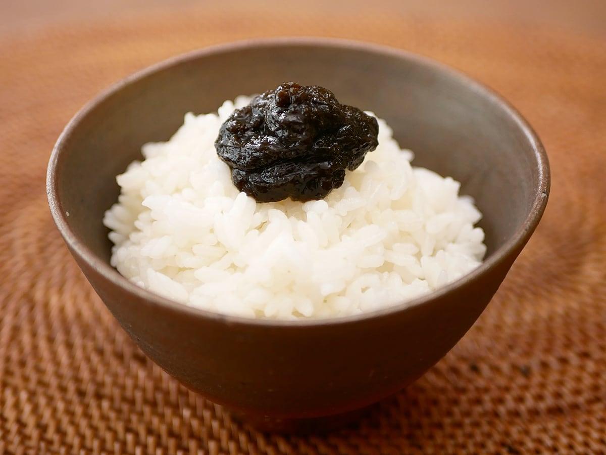 のりクロ 海苔の佃煮 使用例:ご飯ののせて