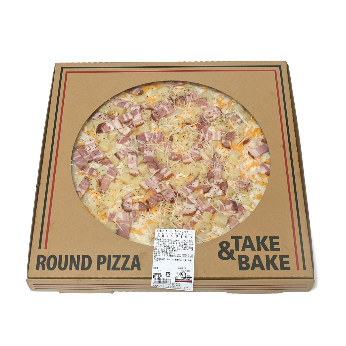 丸型ピザ スモークベーコン&ポテト