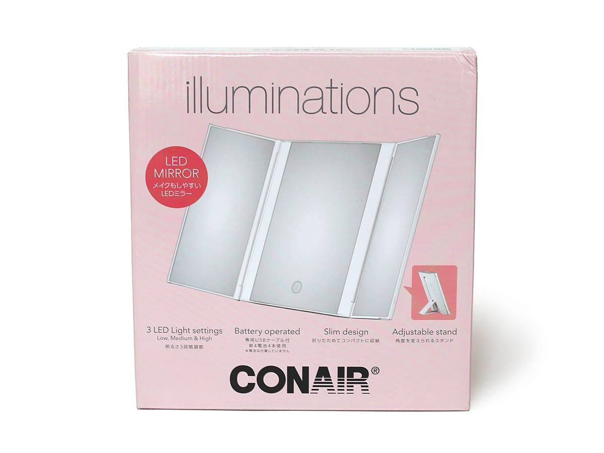 CONAIR(コンエアー)イルミネーションズ LEDイルミネーションミラー