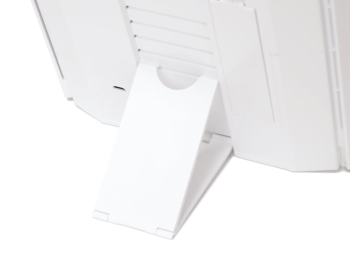 CONAIR(コンエアー)イルミネーションズ LEDイルミネーションミラー 裏面の高さ調節