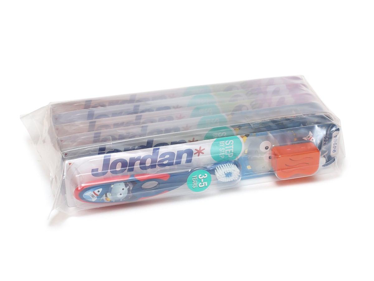 ジョーダン 子ども用歯ブラシ 6本 外装
