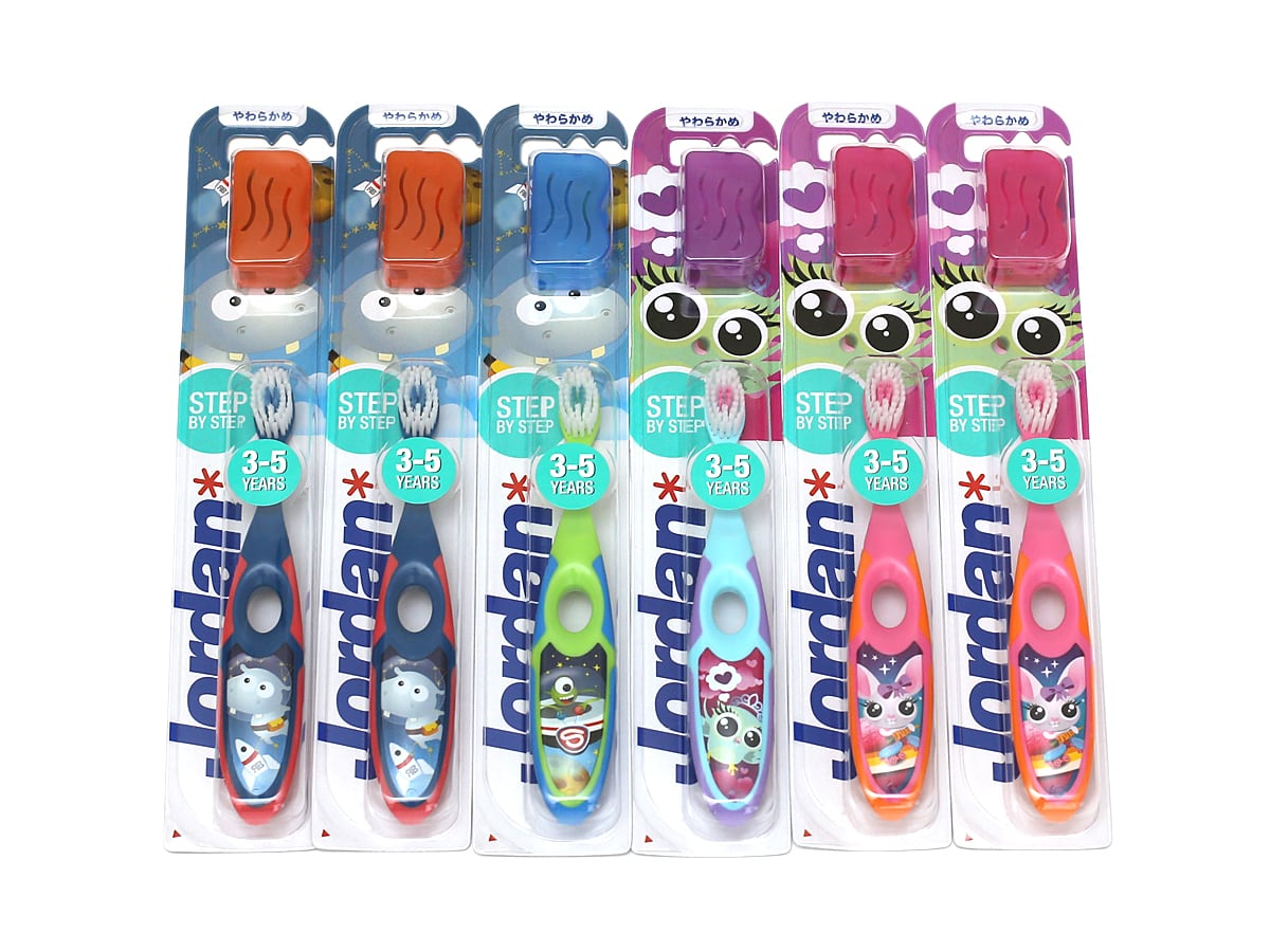 ジョーダン 子ども用歯ブラシ 6本