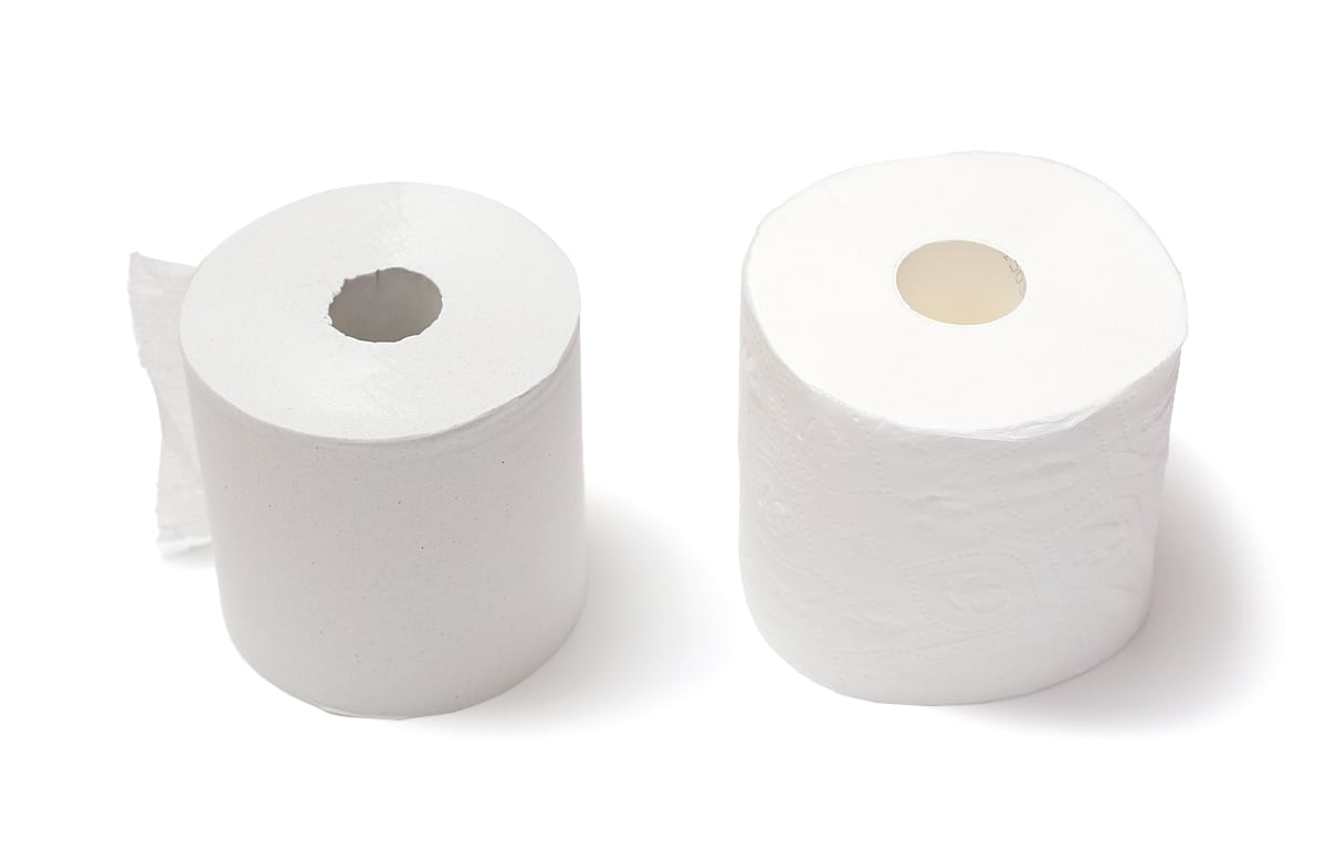 コアユース トイレットペーパー シングル バスティッシュとの比較