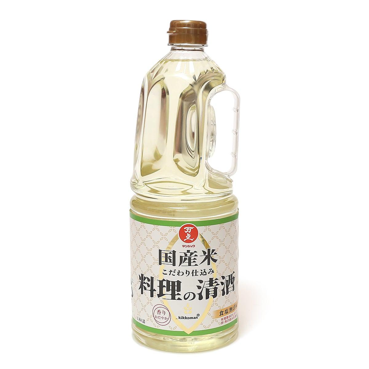 マンジョウ 料理の清酒 1.8L