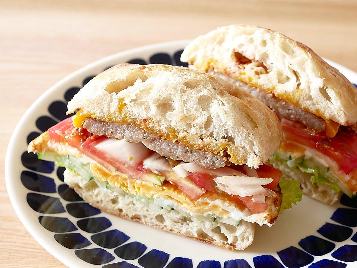 アーティザンロール サンドイッチ(具沢山)