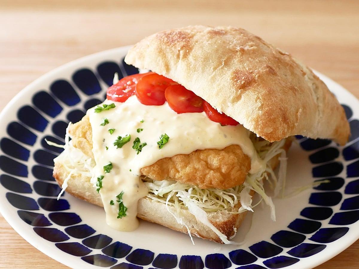 チキン南蛮サンドイッチ