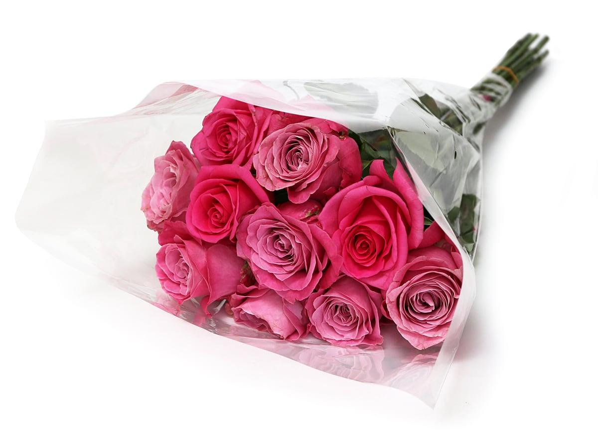 コストコの薔薇の花束