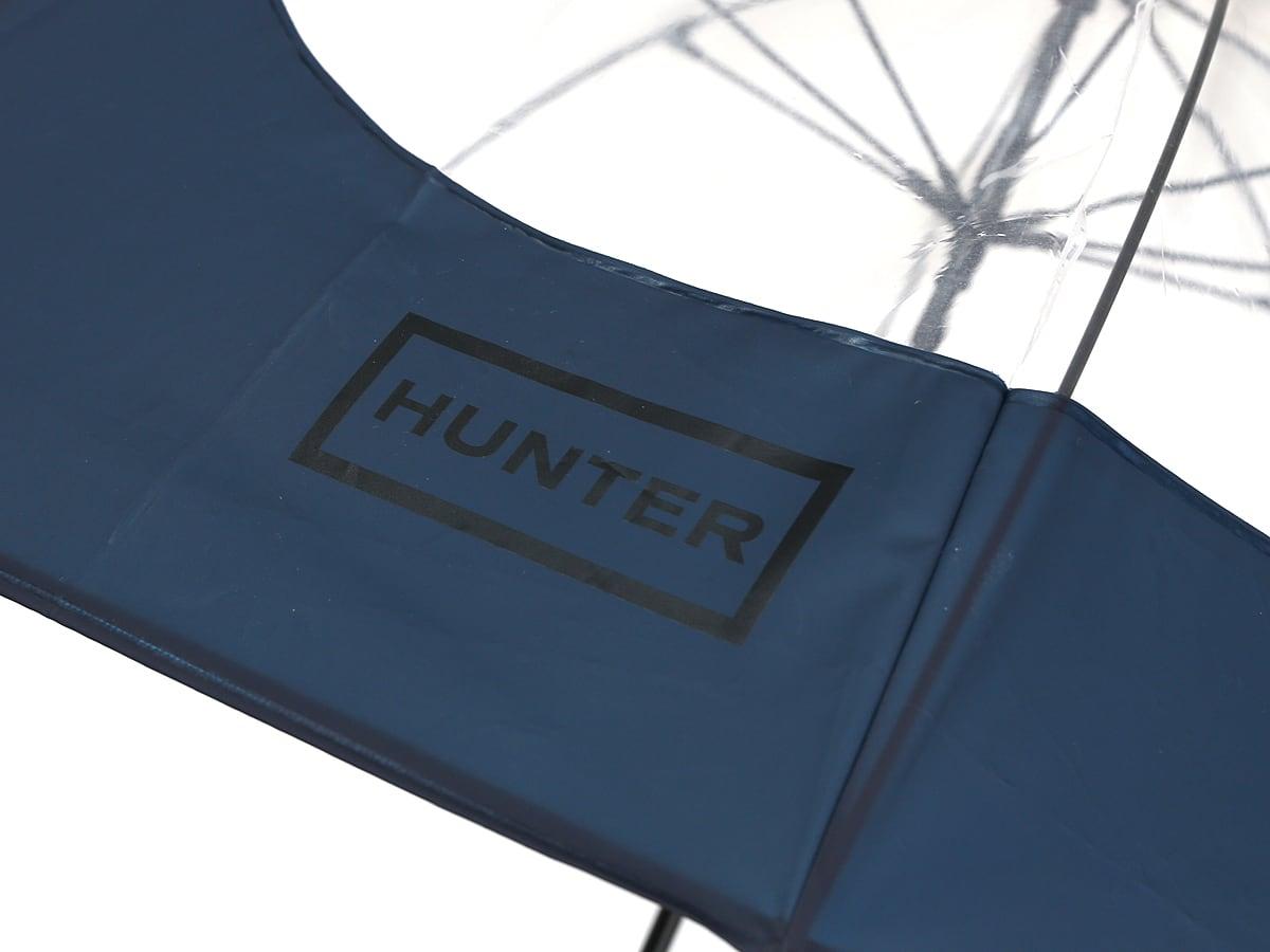 HUNTER(ハンター) アンブレラ 雨傘 HUNTERのロゴアップ