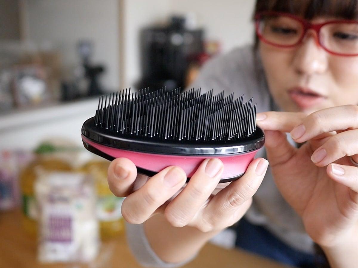 PARSA(パーサ) ヴィーナス ビューティーブラシ ブラシの毛